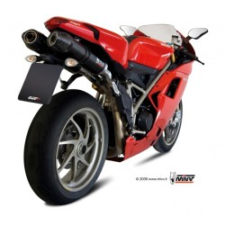 ESCAPE DUCATI 848/1098/1198 MIVV OVAL CARBONO