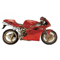 ESCAPES DUCATI 748/916/996/998 MIVV OVAL INOX