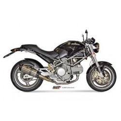 ESCAPES DUCATI MONSTER 620/800/1000/S4 01 02 03 04 MIVV SUONO INOX