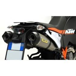 ESCAPES KTM 990 ADVENTURE 09 10 ARROW RACE-TECH TITANIO