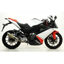 ESCAPES KTM DERBI 125 4T 4V 2010 ARROW STREET-THUNDER ALUMINIO
