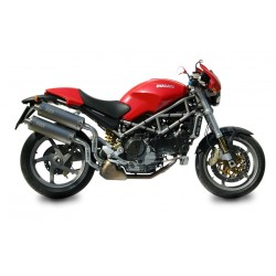 ESCAPES DUCATI MONSTER S2R 800/1000 S4R MIVV OVAL TITANIO