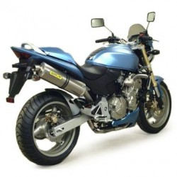 TUBO ESCAPE HONDA CB 600 HORNET 03 04 05 06 ARROW TITANIO