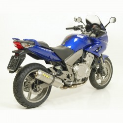 TUBO ESCAPE HONDA CBF 1000 / ST ARROW 06 07 08 09 TITANIO