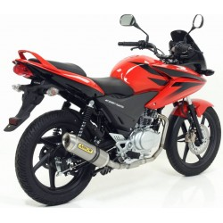 TUBO ESCAPE HONDA CBF 125 09 10 11 ARROW LINEA COMPLETA