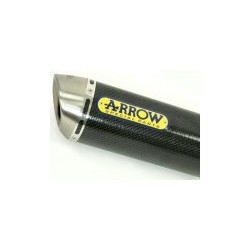 TUBO ESCAPE Z 750 / S ARROW RACE TECH 04 05 06 CARBONO