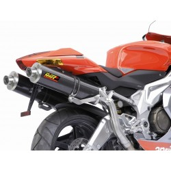 ESCAPES APRILIA RSV 1000 04 05 06 07 08 MIVV OVAL CARBONO ALTO