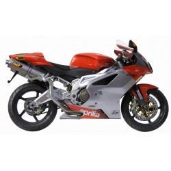 ESCAPES APRILIA RSV 1000 04 05 06 07 08 MIVV OVAL INOX ALTO