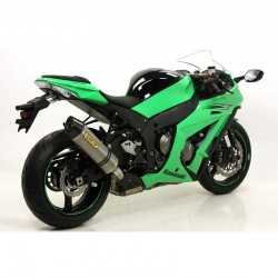 ESCAPE KAWASAKI ZX10R 2011 ARROW RACE TECH TITANIO/carbono