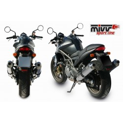 ESCAPES CAGIVA RAPTOR 650 MIVV OVAL TITANIO