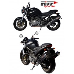 ESCAPES CAGIVA RAPTOR 650 MIVV OVAL CARBONO