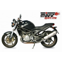 ESCAPES CAGIVA RAPTOR 650 MIVV OVAL INOX