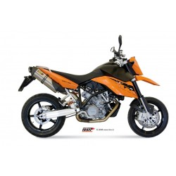 ESCAPES KTM LC8 950 SUPERMOTO R MIVV SUONO INOX