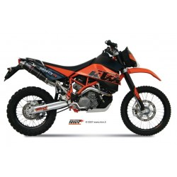 ESCAPES KTM 950 SUPERENDURO MIVV REDONDO CARBONO
