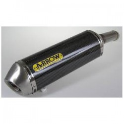 TUBO DE ESCAPE YAMAHA FZ8 800 10 11 12 ARROW RACE TECH CARBONO