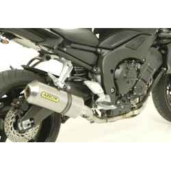TUBO DE ESCAPE YAMAHA FZ8 800 10 11 12 ARROW RACE TECH TITANIO