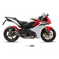 ESCAPE HONDA CBR 600 F 2011 MIVV DOUBLE GUN