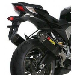 ESCAPES SUZUKI GSX-R 1000 09 10 11 AKRAPOVIC SLIP ON CARBONO