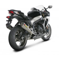 ESCAPES SUZUKI GSX-R 1000 09 10 11 AKRAPOVIC SLIP ON TITANIO CONICO