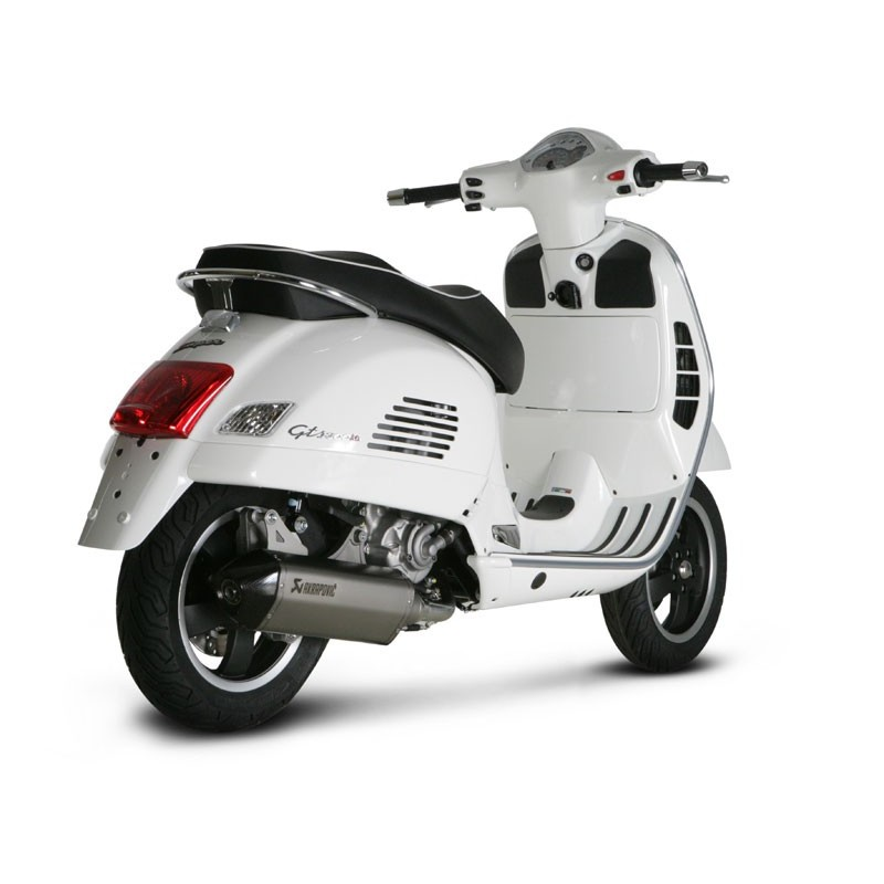 escape vespa gts 125 gts 250 gtv 250 gts 300 akrapovic. Black Bedroom Furniture Sets. Home Design Ideas