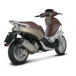 ESCAPE PIAGGIO BEVERLY 300 i.e. 09 10 11 AKRAPOVIC SLIP ON INOX