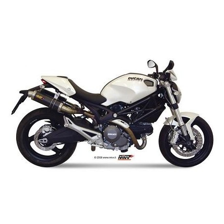 ESCAPES DUCATI MONSTER 796 1100 08 09 10 MIVV GP CARBONO