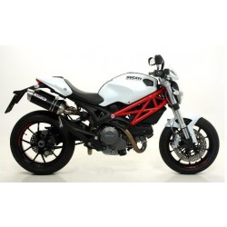 ESCAPES DUCATI MONSTER 696 796 1100 08 09 10 ARROW S.THUNDER ALUMINIO NEGRO DARK