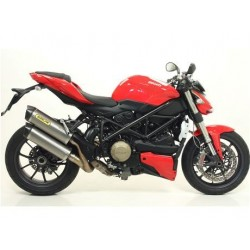 TUBO DE ESCAPE DUCATI STREETFIGHER 09 10 11 12 ARROW TITANIO/CARBONO