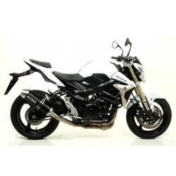 ESCAPE SUZUKI GSR 750 2011 ARROW RACE TECH ALUMINIO DARK