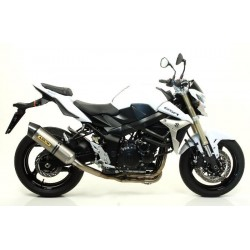 ESCAPE SUZUKI GSR 750 11 12 ARROW RACE TECH TITANIO