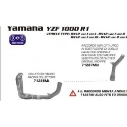 COLECTORES COMPLETOS YAMAHA R1 07 08  ARROW COLECTOR