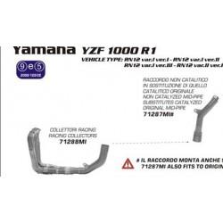 COLECTORES COMPLETOS YAMAHA R1 07 08  ARROW COLECTOR