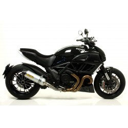 TUBO DE ESCAPE DUCATI DIAVEL 11 12 ARROW ALUMINIO