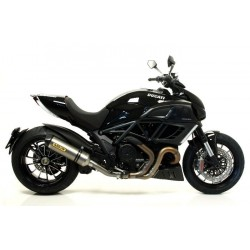 TUBO DE ESCAPE DUCATI DIAVEL 11 12 ARROW RACE TECH TITANIO