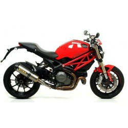 ESCAPE DUCATI MONSTER 1100 EVO 11 12 ARROW RACE TECH TITANIO