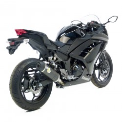 ESCAPE KAWASAKI NINJA 300 2013/14 LEOVINCE LV ONE CARBONO