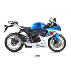 ESCAPE SUZUKI GSX-R 600/750 11 12 13 MIVV DOBLE GUN FULL TITANIO