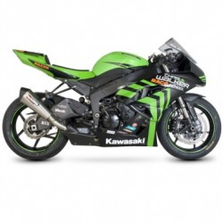 ESCAPE KAWASAKI ZX 6-R 09 10 11 12 SCORPION SERKET CONICO INOX.