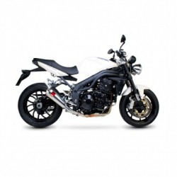 ESCAPE TRIUMPH SPEED TRIPLE 1050 05 06 07 08 09 10 SCORPION POWER CONE INOX.