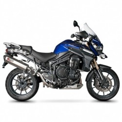 ESCAPE TRIUMPH TIGER 1200 EXPLORER 12 13 SCORPION SERKET PARALELO INOX.