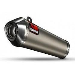 ESCAPE HONDA CBR 1000 RR 08 09 10 11 SCORPION POWER CONE TITANIO/COPA INOX