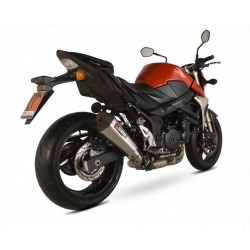 ESCAPE SUZUKI GSR 750 11 12 13 SCORPION SERKET CONICO TITANIO