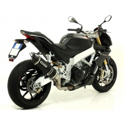 ESCAPE APRILIA TUONO V4 R/APRC 11 12 13 14 ARROW DARK/CARBONO