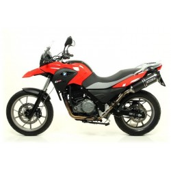 ESCAPE BMW G650 GS 11 12 13 ARROW RACE-TECH CARBONO
