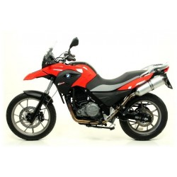 ESCAPE BMW G650 GS 11 12 13 ARROW MAXI RACE-TECH ALUMINIO