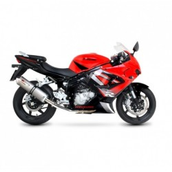ESCAPE HYOSUNG GT 650 R/S 06 07 08 09 SCORPION FACTORY REDONDO INOX