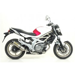 ESCAPE SUZUKI SVF 650 GLADIUS 09 10 11 12 13 ARROW S. THUNDER TITANIO/COPA CARBONO