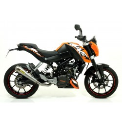 ESCAPE LINEA COMPLETA KTM DUKE 200 12 13 14 ARROW PRO-RACE
