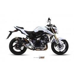 ESCAPE SUZUKI GSR 750 2011 MIVV GP STEEL BLACK