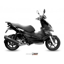 ESCAPE COMPLETO GILERA RUNNER 200 MIVV STRONGER STEEL BLACK